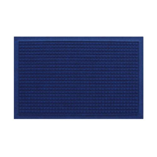 超速乾ワッフル型吸水マット ネイビーブルー(44×74cm)M3140AC-WF022K