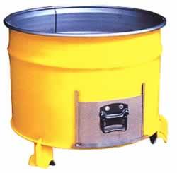 半ドラムコンテナ容器M1031F-D6