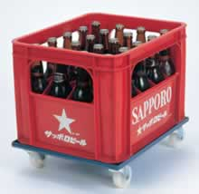 ビール箱台車M162BD-280M