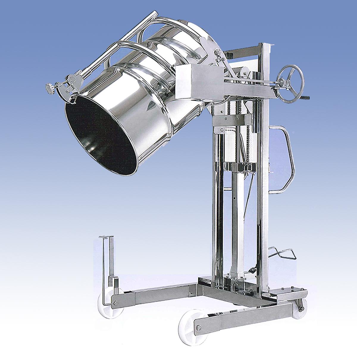 ステンレスドラム反転リフターM20T-300KG-SUS