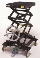 手動リフトキャリー(高揚程車輪幅大)M231SH-100