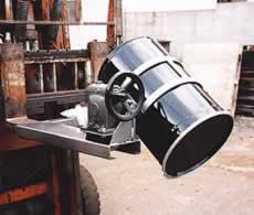 フォークリフト用ドラム反転機MB17DET-1K