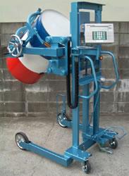 防爆型ドラム缶デジタル計量器付反転リフター/M20ML1100-SHT-2