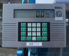 防爆型ドラム缶デジタル計量器付反転リフター/M20ML1100-SHT-4