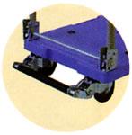 ブレーキ付樹脂製微音台車/ME20SK-301BN-5